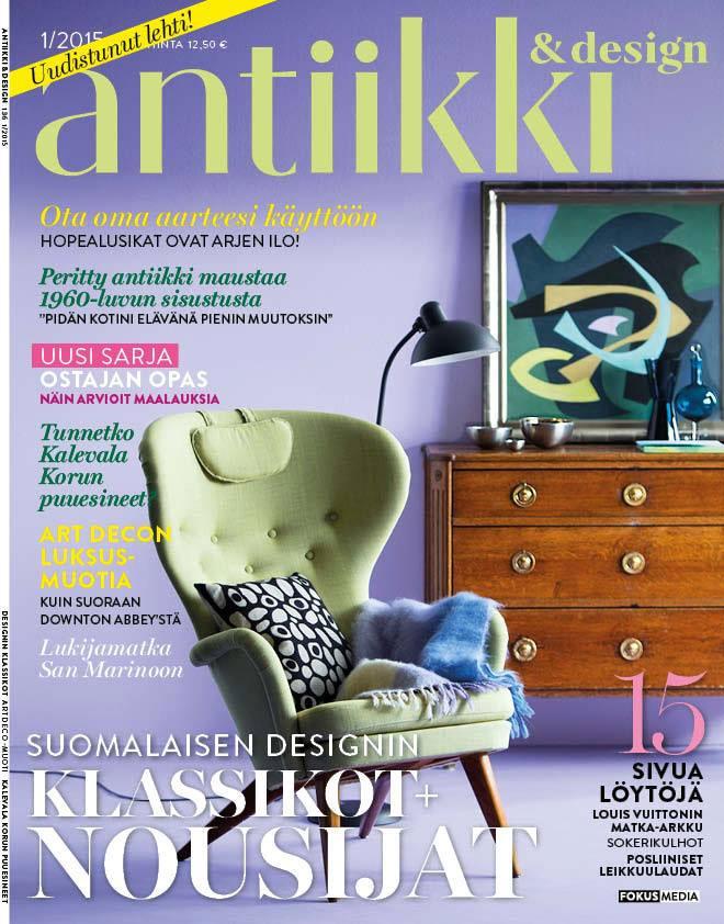 antiikki ja design lehti