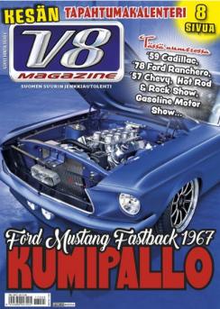 V8 Magazine lehti uudistuu 22.2.2017