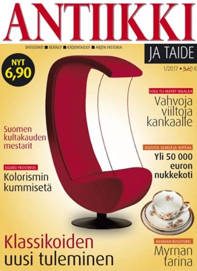 Antiikki ja Taide lehti tarjous - Tilaa lehti tarjoushintaan netistä