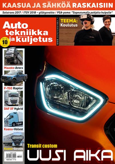 auto tekniikka ja kuljetus lehti