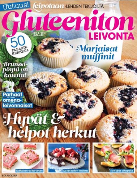 gluteeniton leivonta lehti