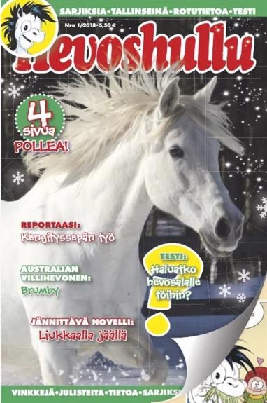 hevoshullu lehti
